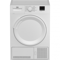 Beko DTLCE80051W 8Kg Load Condenser Dryer White