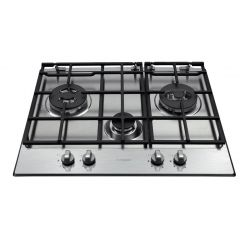 Hotpoint GB630RTX Gas Hob Stainless Steel