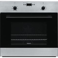 Hotpoint MMY50IX Built-In Fan Oven Low Height For Gas Hob Stainlees Steel