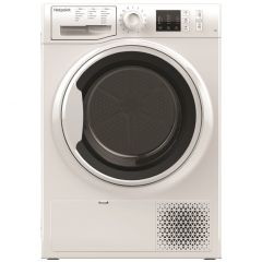 Hotpoint NTM1081WK Heat Pump Condenser Dryer White