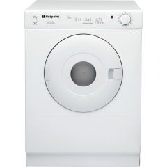 Hotpoint NV4D01P 4Kg Load Compact Dryer White