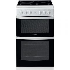 Indesit ID5V92KMW Twin Cavity Oven White