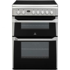 Indesit ID60C2X 60Cm Double Oven Stainless Steel
