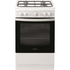 Indesit IS5G1KMW 50Cm Gas Cooker White
