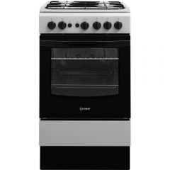 Indesit IS5G1PMSS Single Gas Oven Grey