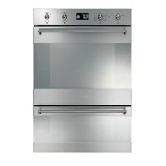 Smeg DOSP38X Built-In Double Oven Stainless Steel